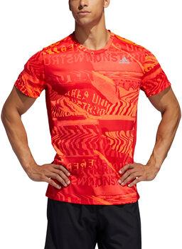 adidas  Pán.běžecké tričkoOWN THE RUN TEE Pánské červená