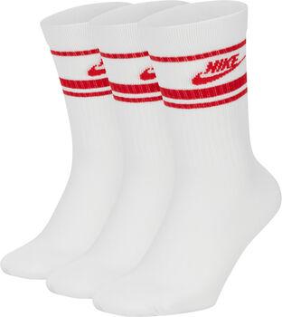 Nike Sportswear Essential ponožky pro dospělé bílá