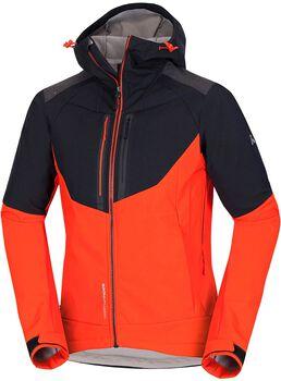NORTHFINDER Brosdy outdoorová bunda Pánské černá