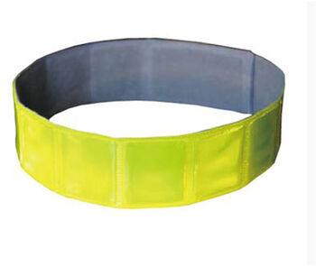 ATIMA Reflexní páska na suchý zip 3M žlutá