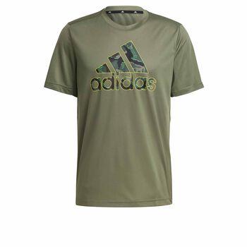 adidas M CAMOGT2 Sportovní tričko Pánské zelená