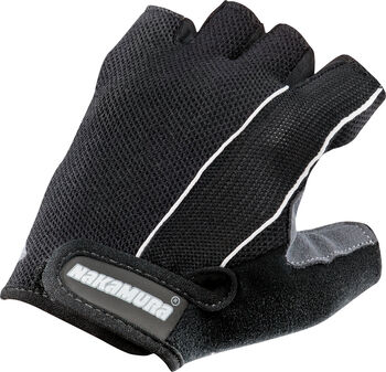 NAKAMURA Guanti cyklistické rukavice černá