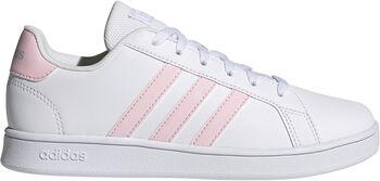 adidas Dět.volnočasová obuv Grand Court K Chlapecké bílá