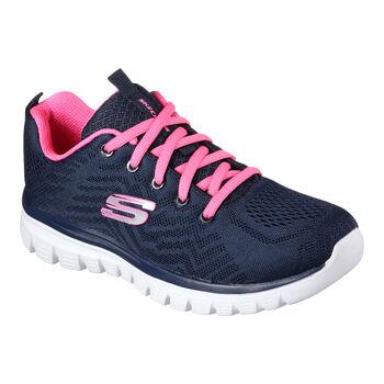 Skechers Graceful-Get Connected volnočasové boty Dámské modrá