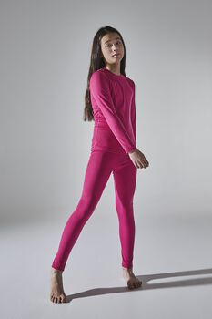 Craft Core Warm Baselayer sada termo prádla růžová