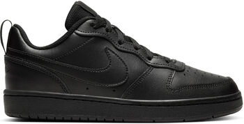 Nike Court Borough Low 2 Jr Chlapecké černá