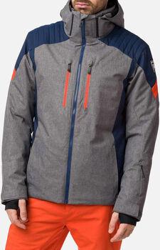 Rossignol Ski Heather lyžařská bunda Pánské šedá