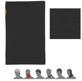 Sensor Tube Merino Wool multifunkční šátek černá