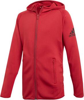 adidas YG TR FL Full-Zip H W Dívčí červená