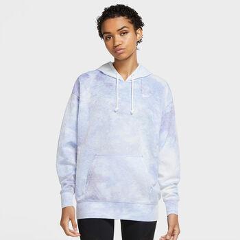 Nike W Icon Clash hoodie sportovní mikina Dámské modrá