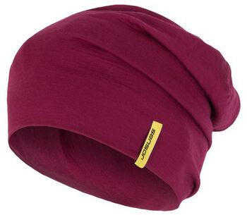 Sensor Merino Wool čepice Pánské fialová