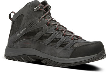 Columbia Crestwood Mid WPRF outdoorové boty Pánské šedá