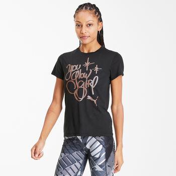 Puma  Dám.tričkoDo You Graphic Tee Dámské černá