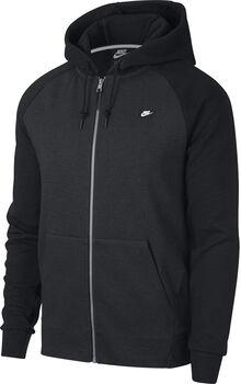 Nike M Nsw Optic Hoodie Full-Zip Pánské černá