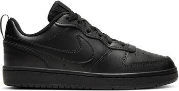 Nike Court Borough Low 2 volnočasové boty Chlapecké černá