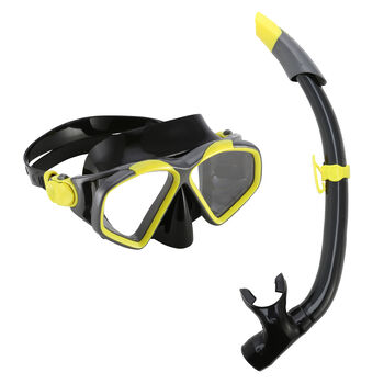 Aqua Lung AquaLung Šnorchl sadaCombo Hawkeye žlutá