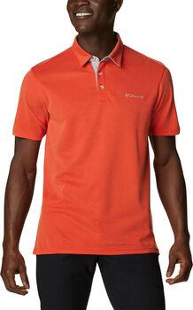 Columbia Pán.tričko s límcem Nelson Point Pánské červená