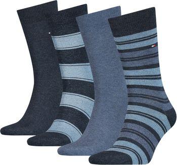 Tommy Jeans Stripe Sock ponožky dárkový box Pánské modrá