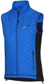 NORTHFINDER Brodie outdoorová vesta Pánské modrá