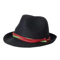 Trend black Dám. klobouk, 100% papír