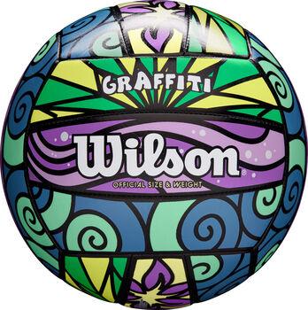 Wilson Volejbalový míč Graffiti bílá