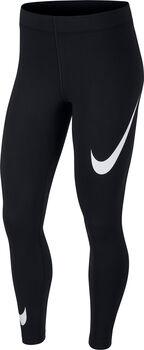 Nike Sportswear Leg-A-See Swoosh Přiléhavé kalhoty Dámské černá