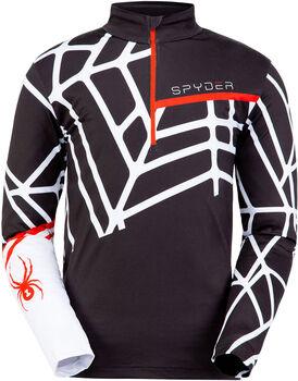 Spyder M Vital Zip T-Neck Pánské černá