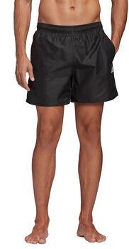 adidas Solid CLX plavecké šortky Pánské černá