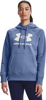 Under Armour Rival Fleece Logo mikina Dámské modrá