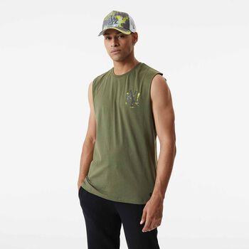 New Era  Pán.tričkoMLB Infill Tm Logo Pánské krémová
