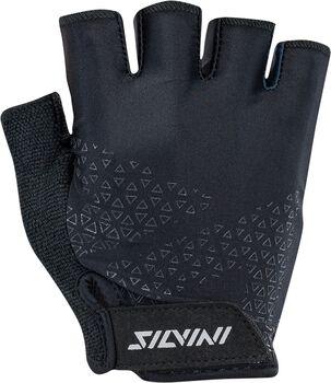 Silvini Aspro cyklistické rukavice černá