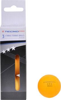 TECNOPRO Míčky na stolní tenis oranžová