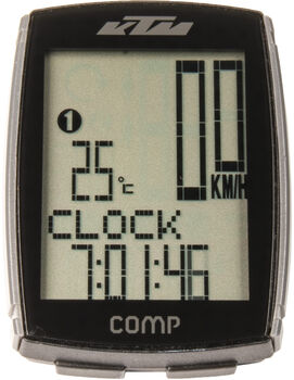 KTM Comp Cyklocomputer   bílá