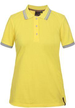 Icepeak Laney tričko s límečkem Dámské žlutá