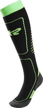 K2  Iris Dl.lyž.ponožky prodospělé, 2 páry, 61%Pc, Dámské zelená