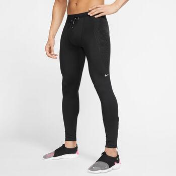Nike Power Running Tights běžecké legíny Pánské černá