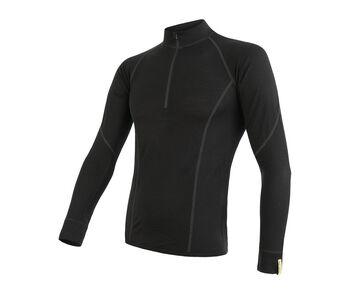 Sensor Merino Active termo tričko Pánské černá