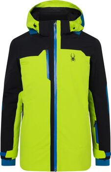 Spyder Whistler lyžařská bunda Pánské zelená