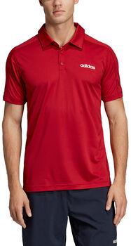 adidas D2M CCool Polo Pánské červená
