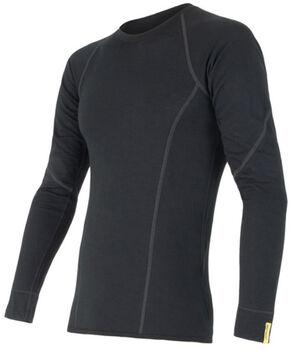 Sensor Merino Active Long Sleeve termo tričko Pánské černá