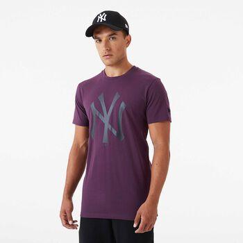 New Era MLB Seasonal Team tričko Pánské fialová
