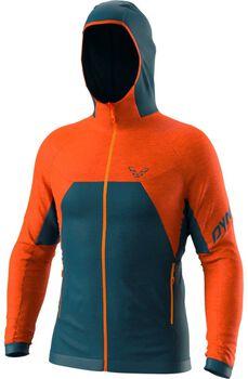 DYNAFIT Tour Wool Thermal M Hoody outdoorová bunda Pánské oranžová