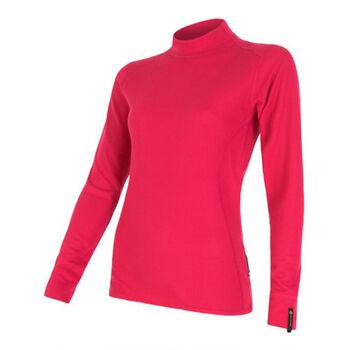 Sensor Double Face Long Sleeve termo tričko Dámské červená