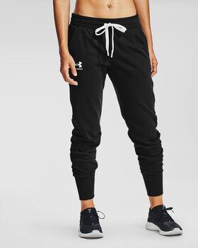 Under Armour Rival Fleece sportovní kalhoty Dámské černá
