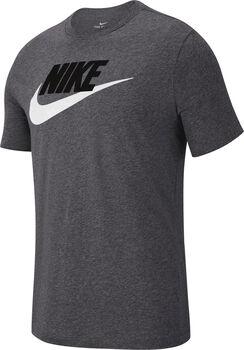 Nike M Nsw Tee Icon Futura Pánské šedá