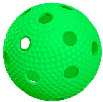 Salming  Florbalový míčAero plus Ball zelená