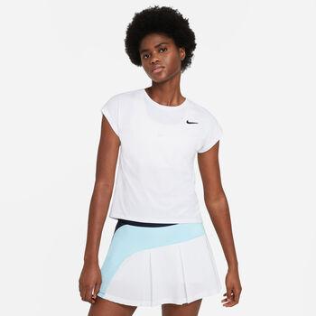 Nike Court Victory tenisové tričko Dámské bílá