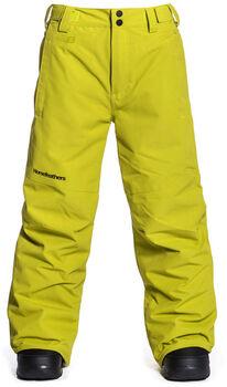 Horsefeathers Spire Youth snowboardové kalhoty žlutá