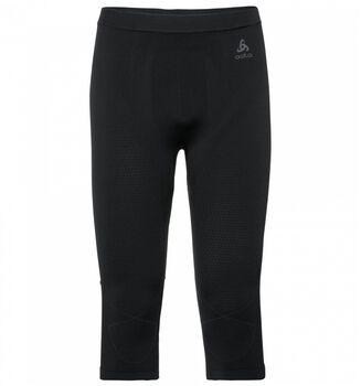 Odlo Evolution Warm 3/4 termo kalhoty Pánské černá