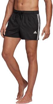 adidas 3-Stripes CLX plavecké šortky Pánské černá